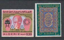 Algeria - 1970, International Education Year set - MNH - SG 568/9