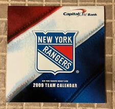 New ListingVintage New York Rangers Sga 2009 Team Calendar