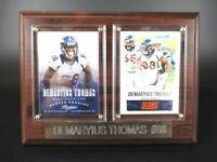 Demaryius Thomas Denver Broncos Holz Wandbild 20 cm,Plaque NFL Football
