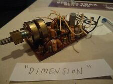 "Marantz 4230 Quad Name ""Dimension"" Potentiometer + PCB Trennung Out"