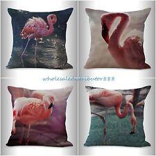 4pcs wholesale decorative throw pillows cushion covers flamingo bird animal