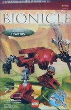 Lego Bionicles Rahaga Norik New 4877 Factory Sealed 2004