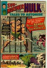 TALES TO ASTONISH #70 6.0 // SUB-MARINER STARTS AS LEAD CHARACTER 1965