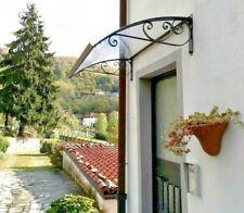Auvent de porte DIY d'entrée fenêtre -Abri banne entrée -Modèl RICCIOLO CLASSICA