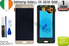 Gold Samsung Galaxy J5 2016 J510 LCD Display Touch Screen Digitizer + tools