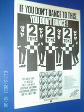 More details for if you don,t dance to this - lp ska 2 tone - a4 poster advert 1980s original