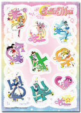 **License** Sailor Moon All Sailor Soldiers & their Icons Sticker Set #55562