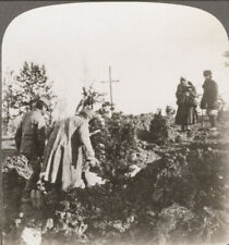 More details for ww1. burying the russian dead in large open ditches, austrian poland. stereoview