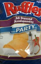 Lay's Ruffles Potato Chips, All Dressed, 340g/12oz - 3pk{Imported from Canada}
