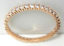 VITTORE CRYSTAL ROSE-GOLD RING SIZE 5 EUR 50 2014 SWAROVSKI JEWELRY 5095327