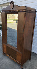 *DELISH* Antique 1930's Art Deco Armoire Wardrobe - Veneered - Cedar lined