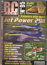 RC PILOT N°95 PLAN : THE SPIES V4 / Ka 8b / ROBIN DR 400 / PIPER CUB / PIPER J5