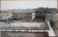 Matanzas, Cuba 1927 Disaster/Hurricane Realphoto Postcard-Barrio Versalles After