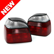 93-99 VW GOLF GTI MK3 OEM FACTORY STYLE REPLACEMENT EURO TAILLIGHTS - CLEAR/RED