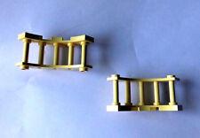 Sammlungsauflösung Lego Belville 4x Geländer Bogen 30056 2 01 Brüstung gelblich