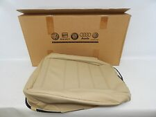 New OEM 2004-2008 VW Touareg Seat Cushion Cover Rear Left Side Leather Beige