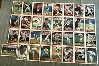 1991 BALTIMORE ORIOLES Topps COMPLETE Baseball Team Set 32 Cards RIPKEN OLSEN