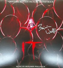 STEPHEN KING'S IT (2017) Vinyl 2-LP Benjamin Wallfisch AUTOGRAPHED Signed MINT!