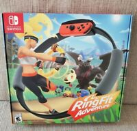 Ring Fit Adventure Nintendo Switch Controller Ring-Con Leg Strap + Game ~ NEW