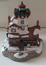 """Nib~Harbour Lights""""Christmas 2000~Hereford Inlet New Jersey W/Coin & Ornament"""