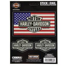 Biker Harley Davidson Vintage Trademark USA Logo Emblem Aufkleber Decal Sticker