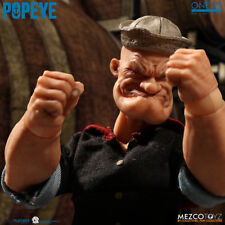 Perfect Mezco Toyz 76470 1/12 Popeye 6 Inch Action Figure In Stock