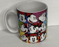 Vintage Disney Minnie Mouse Coffee Mug Cup Ceramic Many Faces Of Minnie Mug 14oz