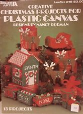 Leisure Arts: Creative Christmas Projects Plastic Canvas pattern leaflet