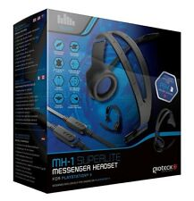 Gioteck MH-1 PS4 Inline Messenger Headset Playstation 4 Gaming