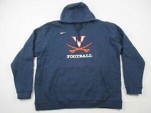 Virginia Cavaliers Nike Sweatshirt Men's Navy Cotton NEW Multiple Sizes