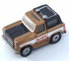 Micro Machine Chevy Blazer  Chevrolet Truck Sport Utility Gold Car Truck Vehicle
