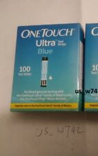 100ct One Touch Ultra Blue, in retail box 1X100CT. Good DEAL NIB Exp: 11/2020