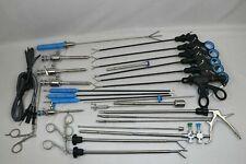 25 Pc Laparoscopic Instrument Set 5mmx330mm Laparoscopy Endoscopy