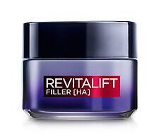 L'oréal Paris Revitalift Filler Crema Viso Antirughe Rivolumizzante notte Con...