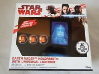 Star Wars Holopane 3D HD Mood Lamp Fre Standing or Wall Mount