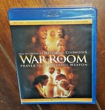 War Room (DVD/Blu-ray, 2015) Exclusive Collector's Edition!