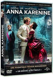 Anna Karénine - Keira Knightley - DVD - NEUF - VERSION FRANÇAISE