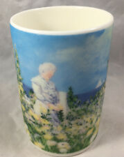 Coffee Mug Cup A Day in Bloom Chaleur J. Quanrud Lady Garden Flowers Blooming
