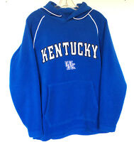 University Of Kentucky Hoodie Size Small UK Wildcats Royal Blue Fleece Polyester