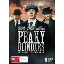 Peaky Blinders : Season 1-4 (DVD, 2018, 8-Disc Set)