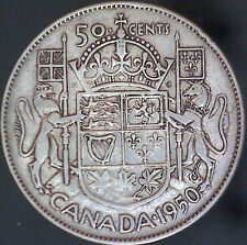 1950 Canadian Silver 50 Cent Coin - #1161