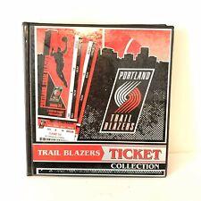 Portland Trail Blazers Ticket Book Organizer Red Black White NWOT