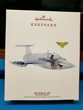 2019 Hallmark Keepsake Wonder Woman Invisible Jet Ornament