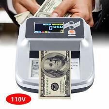 Money Bill Counter Cash Checking Machine Counterfeit Detector Uv Mg Bank Checker
