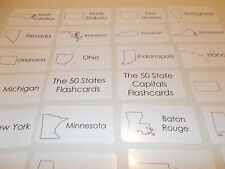 100 State and Capital Flashcards. Preschool-5th Grade Geography Flashcards.