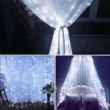 300LED Fairy Curtain String light for Xmas Christmas Wedding Party Connectable