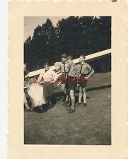 4 x Foto, Segelflieger in Langendamm 1940 (N)19223