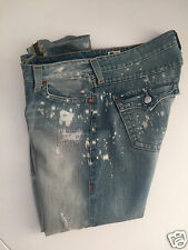 TRUE RELIGION CAMERON MILLERTON DISTRESSED  JEANS SIZE 32