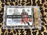2012-13 Limited Unlimited Potential Rookie Auto/199 Bradley Beal BGS 9.5 W/10 Sp