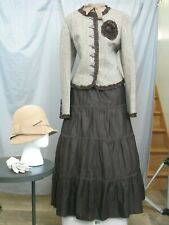 Victorian Dress Edwardian Womens Costume Civil War Reenactment Western Prairie